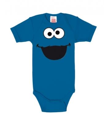 Logoshirt® Sesamstraße, Krümelmonster Babystrampler