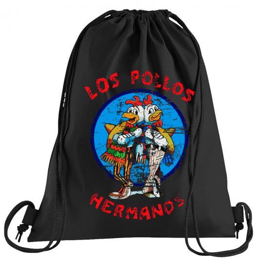 Los Pollos Hermanos Sportbeutel – bedruckter Turnbeutel mit Kordeln