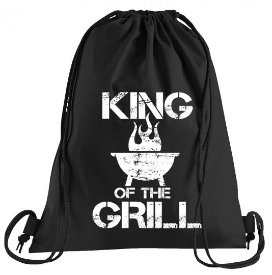 King of the Grill Sportbeutel – bedruckter Turnbeutel mit Kordeln
