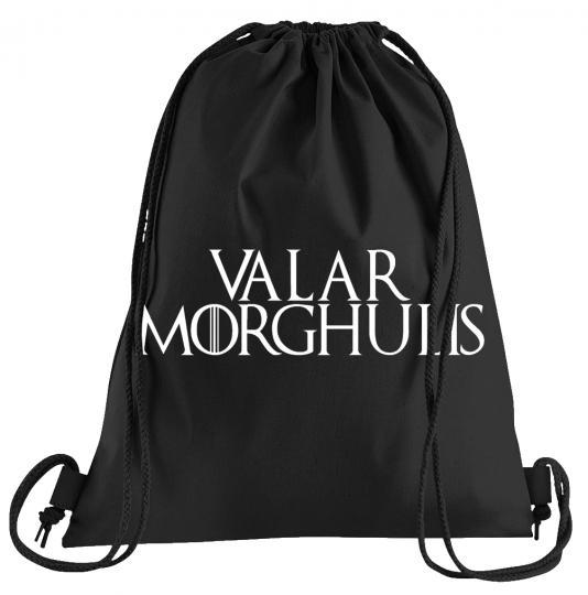 Valar Morghulis Sportbeutel – bedruckter Turnbeutel mit Kordeln