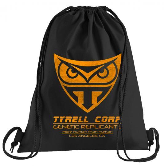 Tyrell Corp Sportbeutel – bedruckter Turnbeutel mit Kordeln