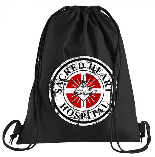Sacred Heart Hospital Sportbeutel – bedruckter Turnbeutel mit Kordeln