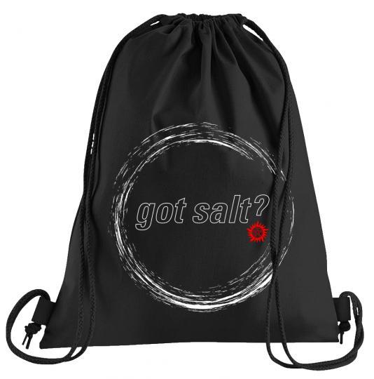 Got Salt Sportbeutel – bedruckter Turnbeutel mit Kordeln