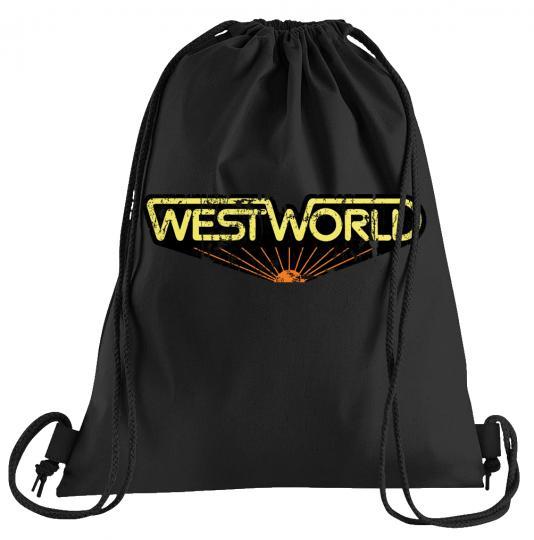 Westworld Classic Sportbeutel – bedruckter Turnbeutel mit Kordeln