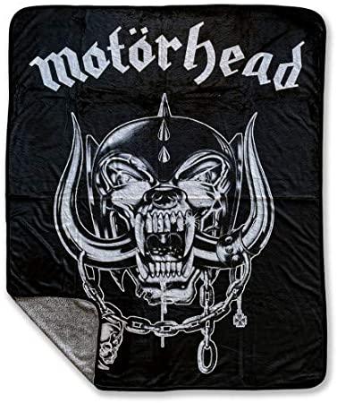 Motorhead Fleecedecke Warpig Logo