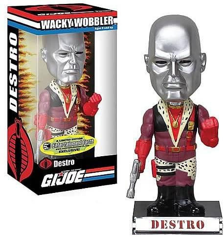 G.I. Joe - Bobble Head - Destro Wackelkopf