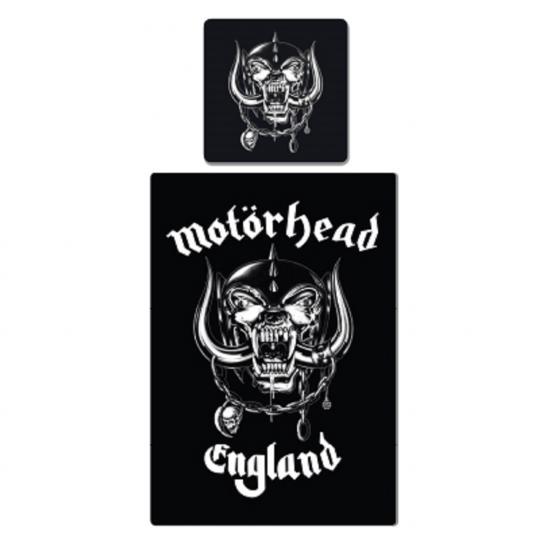 Motörhead Bettwäsche, Baumwolle, schwarz, 135 x 200
