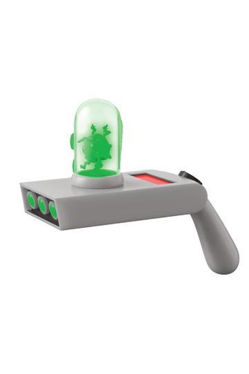 Rick and Morty Vinyl Toy Cosplay Replik mit Sound und Leuchtfunktion