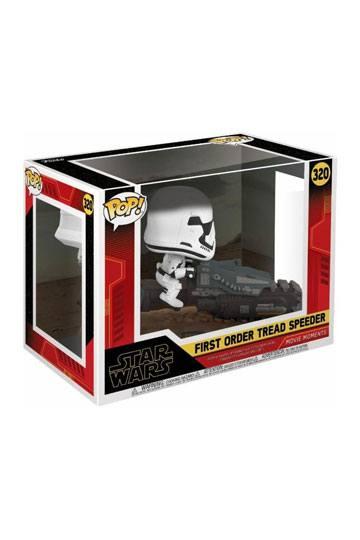 Star Wars Episode IX POP! Movie Moment Vinyl Figur First Order Tread Speeder 9 cm