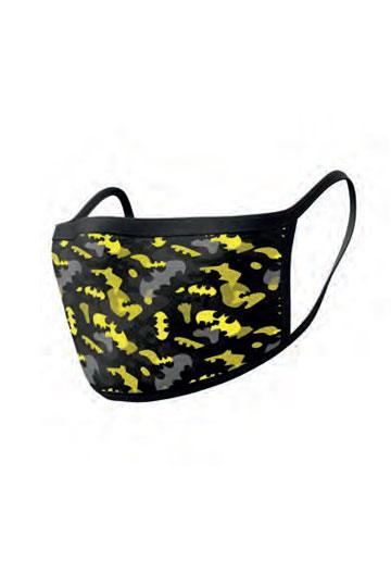 Batman Stoffmasken 2er-Pack Camo Yellow