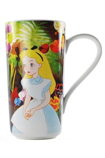 Disney Latte-Macchiato Tasse Alice Curiosity