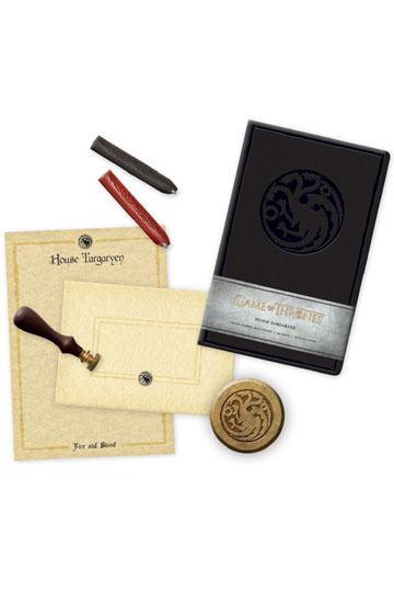 Game of Thrones Deluxe Schreibwaren-Set House Targaryen