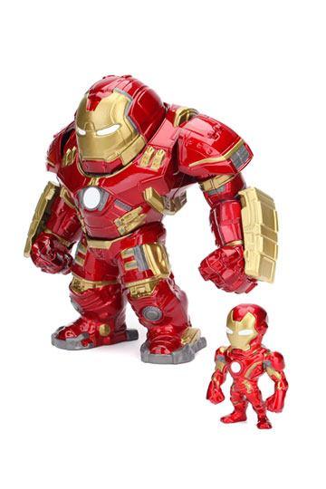 Avengers Age of Ultron Metals Die Cast Figuren Hulkbuster & Iron Man 15 cm