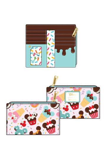 Disney by Loungefly Geldbeutel Mickey and Minnie Sweets Ice Cream