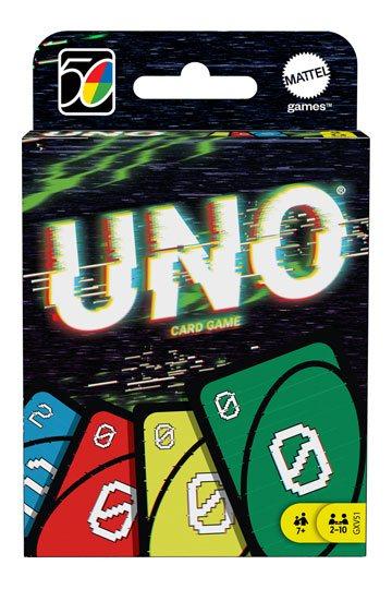 UNO Kartenspiel Iconic Series Jubiläumsedition 2000's