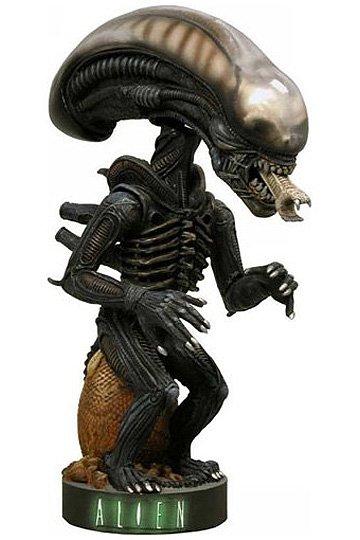 Alien Head Knocker Wackelkopf-Figur Alien Warrior 18 cm