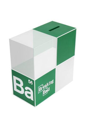 Breaking Bad Spardose / Buchstütze BrBa Logo