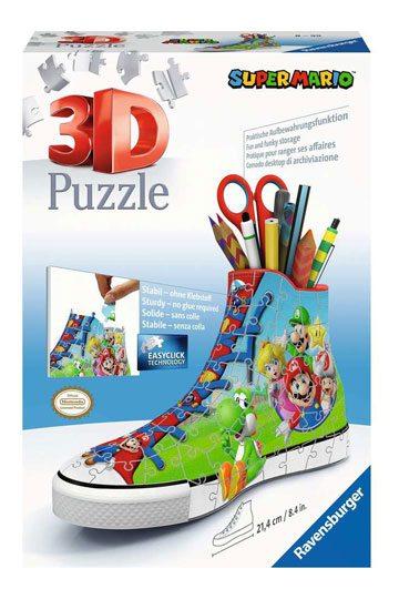 Super Mario 3D Puzzle Sneaker (108 Teile)