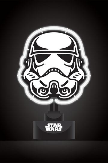 Star Wars Neon-Leuchte Stormtrooper 17 x 24 cm