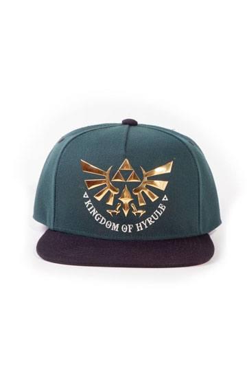 The Legend of Zelda Snap Back Cap Green Hyrule
