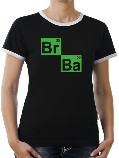 TLM BR BA Formel Kontrast T-Shirt Damen