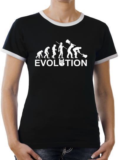 TLM Evolution Heavy Metal Trash Kontrast T-Shirt Damen