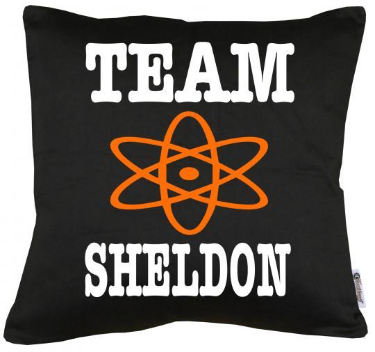 Team Sheldon Kissen mit Füllung 40x40cm