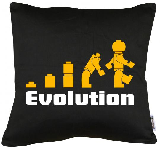 Die Evolution Kissen mit Füllung 40x40cm