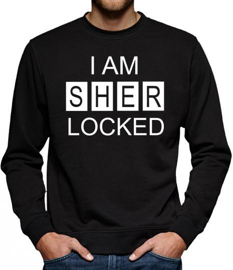TLM I am Sherlocked Sweatshirt Pullover Herren