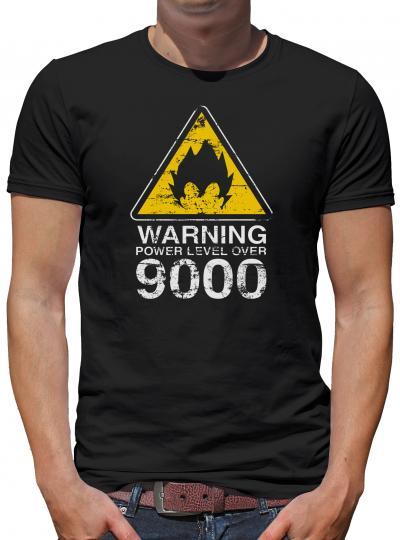 Warning Power Level over 9000 T-Shirt