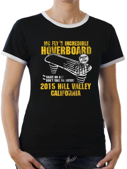 TLM Hoverboard California Kontrast T-Shirt Damen