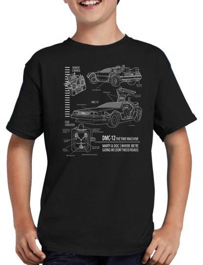 DMC-12 Blueprint T-Shirt