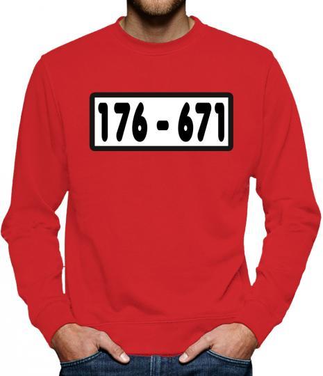 TLM Panzerknacker Sweatshirt Pullover Herren