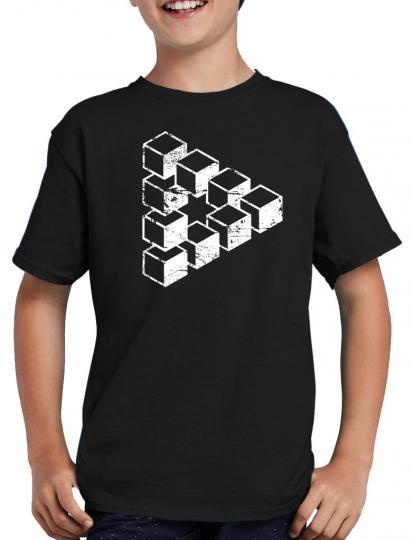 Sheldons Escher Cube T-Shirt