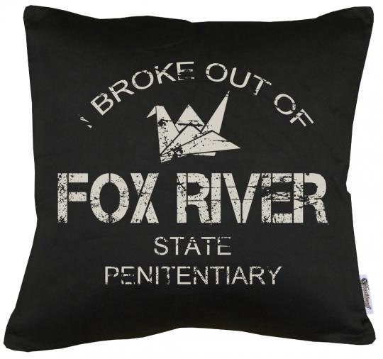 Fox River Kissen mit Füllung 40x40cm