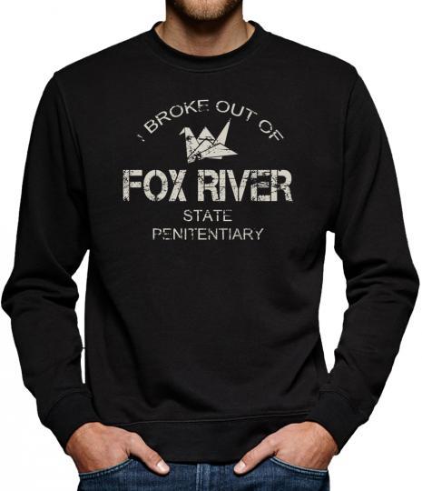 TLM Fox River Sweatshirt Pullover Herren