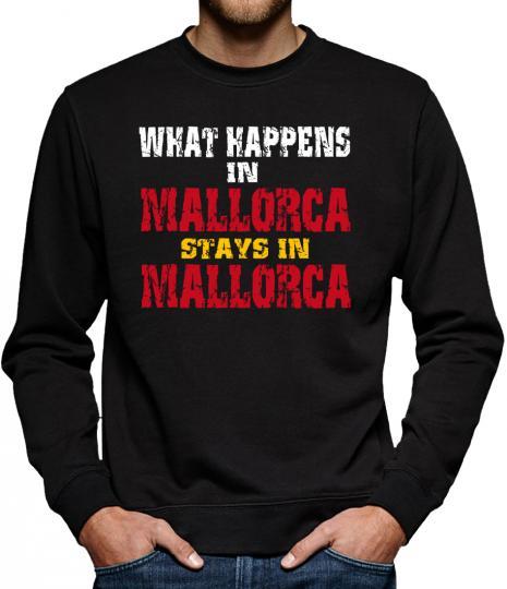 TLM Whats Happen in Mallorca... Sweatshirt Pullover Herren