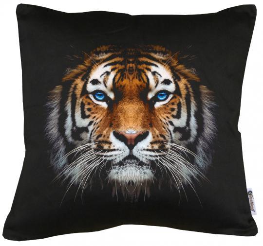 Tiger Kissen mit Füllung 40x40cm