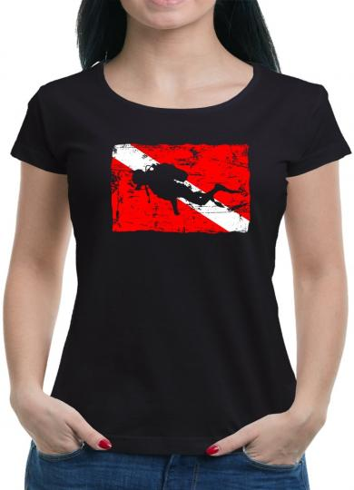 Taucherflagge T-Shirt