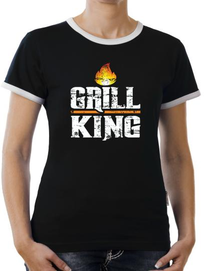 TLM Grill King Kontrast T-Shirt Damen