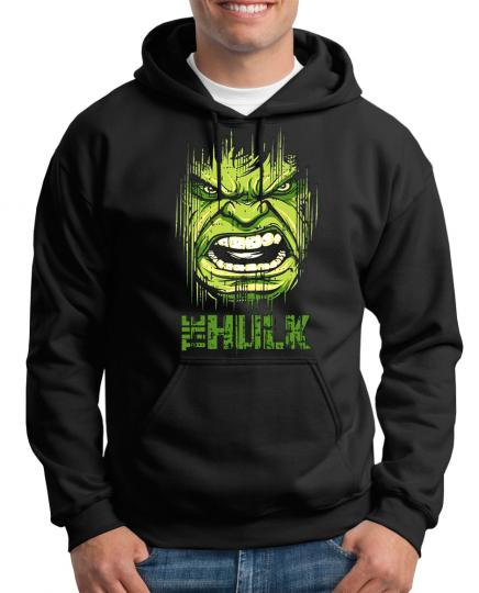Hulk Face Kapuzenpullover