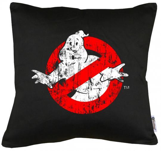 Ghostbuster Distressed Kissen mit Füllung 40x40cm