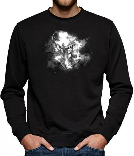 TLM Tardis Wharp Sweatshirt Pullover Herren