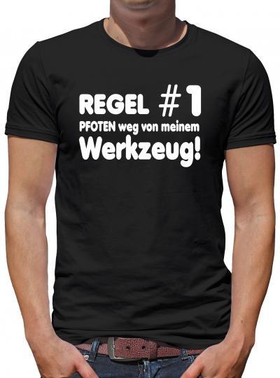 Regel Nr. 1 Pfoten weg... T-Shirt