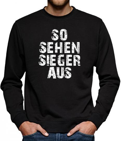 TLM So sehen Sieger aus Sweatshirt Pullover Herren