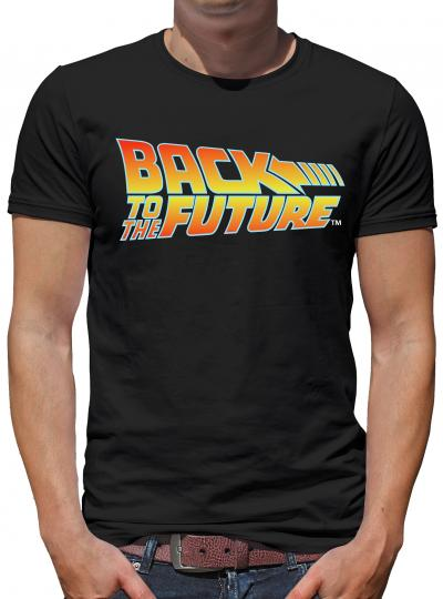 Zurück in die Zukunft Logo T-Shirt