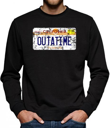 TLM Outatime License Plate Sweatshirt Pullover Herren