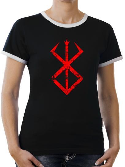 TLM Berserk Cursed Kontrast T-Shirt Damen