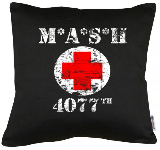 MASH 4077 Kissen mit Füllung 40x40cm