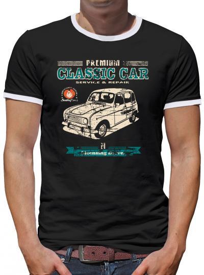 R4 Kontrast T-Shirt Herren